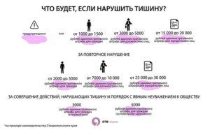 Закон О Тишине В Новосибирске 2020