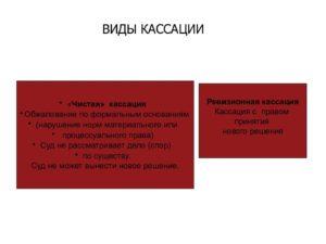 2 кассация и надзор сравнение гражданский процесс