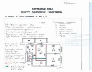 Эскиз перепланировки квартиры самостоятельно