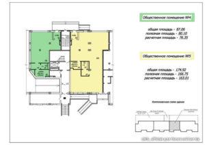 Расчёт площади дома по бти для определения налоговой базы