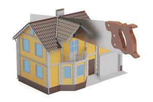 Как Разделить Дом На 2 Адреса