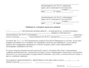 Претензионно исковая работа в организациях при взыскании задолженности по договору