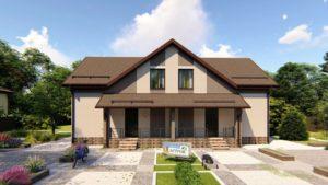 Как Построить Дом На Две Семьи На Одном Участке
