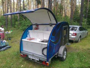 Самодельные прицепы дачи для легкового автомобиля