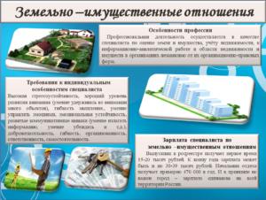 Понятие земельно имущественных отношений