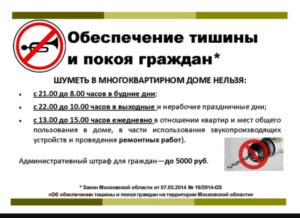 В какие дни нельзя шуметь перфоратором в квартире по закону рф в брянске