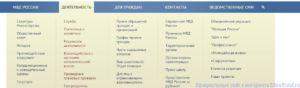 Список Санаториев Мвд
