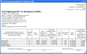 Что подтверждает оплату счетфактура при поставке