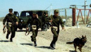 Действия пограничного наряда по задержанию нарушителей гос.границы