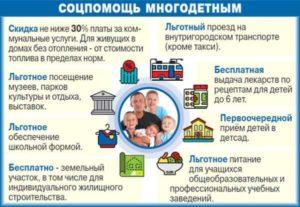 Сколько детей должно быть у многодетной семьи