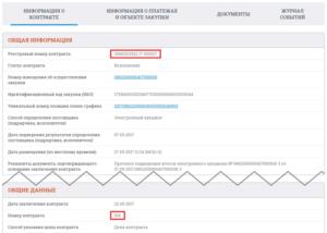 Где искать реестровый номер закупки в единой информационной системе