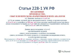 Статья 228 Ук Рф С Изменениями На 2020 Год Таблица