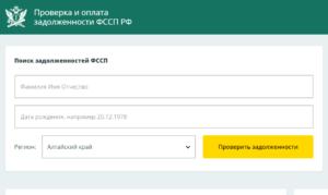 Фссп проверка задолженности по фамилии ленинградская область