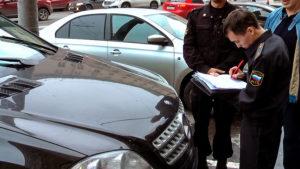 Как забрать личные вещи с арестованого автомабиля