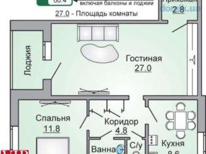 Включается ли лоджия в общую площадь квартиры при оплате