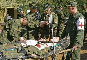 Врачи служат в армии