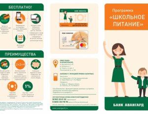 Школьный Карта Питания Как Активировать