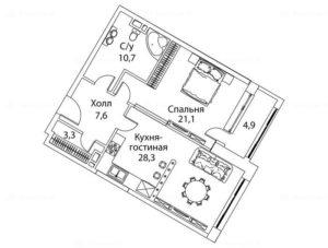 Планировка по адресу москва