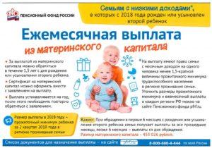 Через какое время после рождения второго ребенкамржно воспользоваться материнский капитал