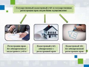 Постановка на кадастровый учет объекта вспомогательного значения