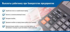 При банкротстве организации что выплачивается работникам в декрете беларусь