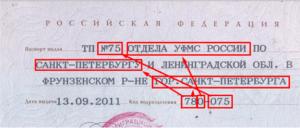 Тп в паспорте как расшифровывается