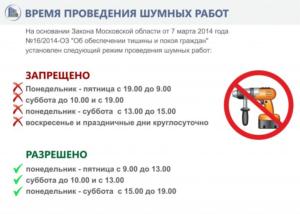 До сколько можно проводить шумные ремонтные работы в г челябинске