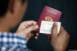 Я мать одиночка гражданка киргизиии хочу поспорт получить российский как