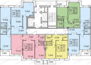 Сколько квартир в доме по адресу