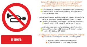 Закон О Тишине В Челябинской Области 2020