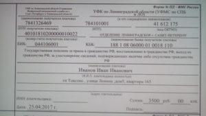Что входит в оплату госпошлины на гражданство рф