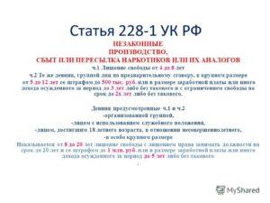 Срок Наказания По Статье 228 Ч 4 Ук Рф 2020