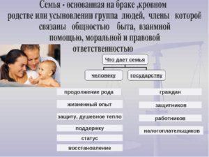 Что даёт семье государство