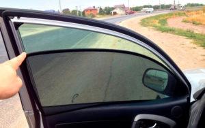 Штрафы на сетки на передних стеклах