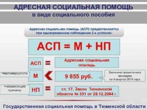 Что такое адресная помощь и кому она положена в ростовской области