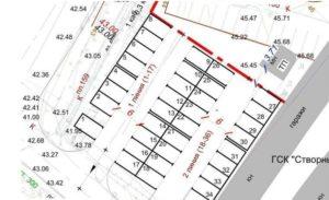 Расстояния между рядами гаражей в гск